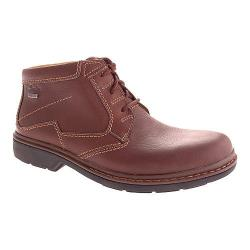 Men's Clarks Rockie Hi GTX Brown Leather