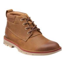 Men's Clarks Varick Hill Ankle Boot Cognac Leather