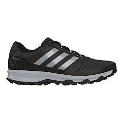 Men's adidas Duramo 7 Trail Running Shoe Black/Silver Metallic/Clear Onix