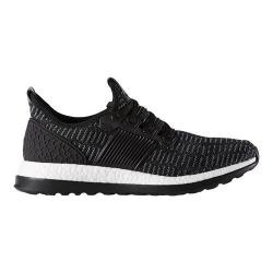 Men's adidas Pure Boost ZG Primeknit Running Shoe Black/Black/DGH Solid Grey