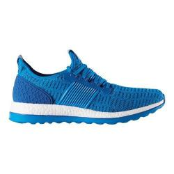 Men's adidas Pure Boost ZG Primeknit Running Shoe Shock Blue/Shock Blue/EQT Blue
