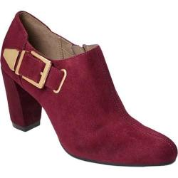 Women's Aerosoles Effortless Bootie Red Fabric
