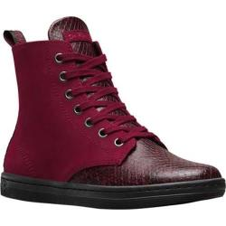 Women's Dr. Martens Leyton 7-Eye Boot Wine Viper