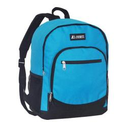 Everest Casual Mesh Pocket Backpack Turquoise/Black