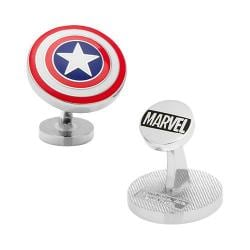 Men's Cufflinks Inc Captain America Shield Cufflinks Multi