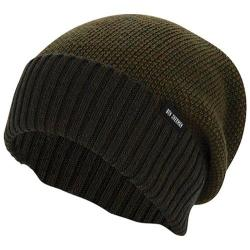 Men's Ben Sherman Birdseye Slouch Beanie Dark Olive Heather