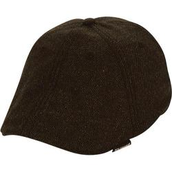 Men's Ben Sherman Core Open Back Flat Cap Black