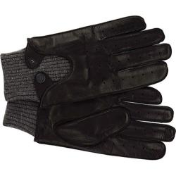 Men's Ben Sherman Leather Driving Gloves Black