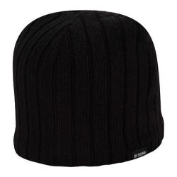 Men's Ben Sherman Rib Knit Beanie Black Heather