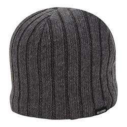 Men's Ben Sherman Rib Knit Beanie Charcoal Heather 20583299