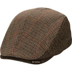 Men's Ben Sherman Wool Flat Cap Black