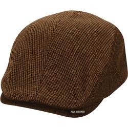 Men's Ben Sherman Wool Flat Cap Brown