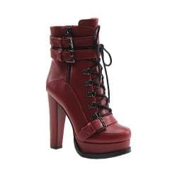 Women's Luichiny Storm Chaser Bootie Wine Imi Leather