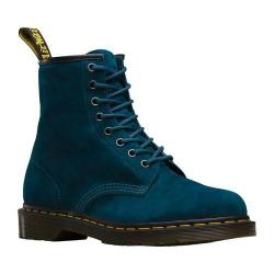 Dr. Martens 1460 8-Eye Boot Lake Blue Soft Buck