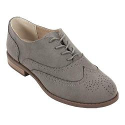 Women's White Mountain Stern Oxford Grey Suedette