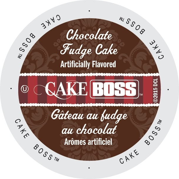 Cake Boss 'Chocolate Fudge Cake' Coffee Single-serve K-Cup Portion Pack