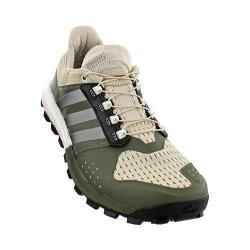 Men's adidas Adistar Raven Boost Hiking Shoe Clear Brown/Iron Metallic/Base Green