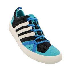 Men's adidas ClimaCool Boat Lace Black/Chalk White/Shock Green