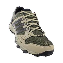 Men's adidas Kanadia 7 Trail GORE-TEX Hiking Shoe Base Green/Black/Tech Beige