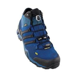 Men's adidas Terrex Fast R Mid GORE-TEX Hiking Shoe Tech Steel/Black/Collegiate Navy