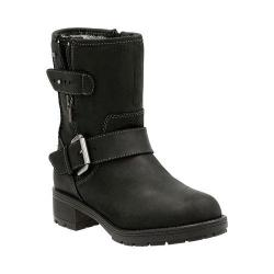 Women's Clarks Reunite Go GORE-TEX Ankle Boot Black Cow Full Grain Leather