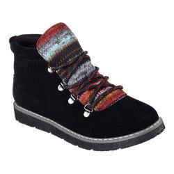 Women's Skechers BOBS Alpine Smores Ankle Boot Black