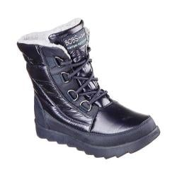 Women's Skechers BOBS Mementos Snow Cap Cold Weather Boot Navy