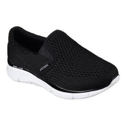Boys' Skechers Equalizer Double Play Slip On Shoe Black