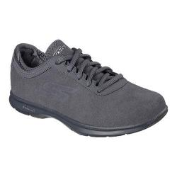 Women's Skechers GO STEP Inception Walking Shoe Charcoal 20745908
