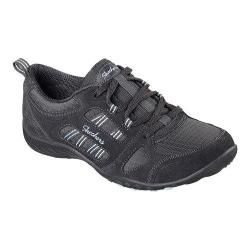 Women's Skechers Relaxed Fit Breathe Easy Good Luck Sneaker Charcoal