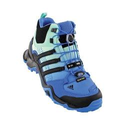 Women's adidas Terrex Swift R Mid GORE-TEX Ray Blue/Black/Ice Green