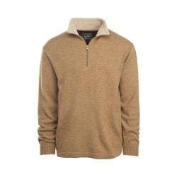 Men's Woolrich Granite Springs II Half Zip Sweater Twine Heather