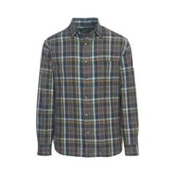 Men's Woolrich Red Creek Long Sleeve Shirt Deep Indigo
