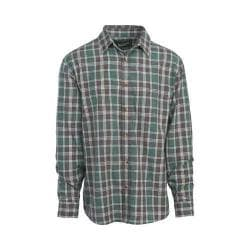 Men's Woolrich Red Creek Long Sleeve Shirt Silver Pine