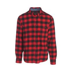 Men's Woolrich Trout Run Shirt Red Buffalo Check