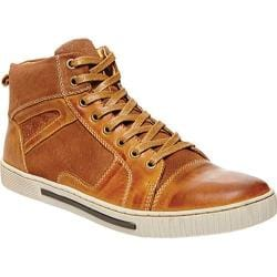 Men's Steve Madden Peerow High Top Tan Leather