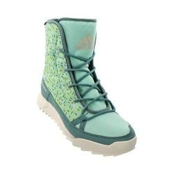 Women's adidas CW Choleah Insulated CP Winter Boot Ice Green/Vapour Steel/Chalk White