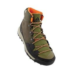 Men's adidas CW Winterpitch Mid CP Hiking Boot Utility Grey/Black/Olive Cargo