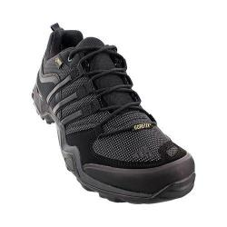 Men's adidas Fast X GORE-TEX Hiking Shoe Black/Dark Grey/Power Red