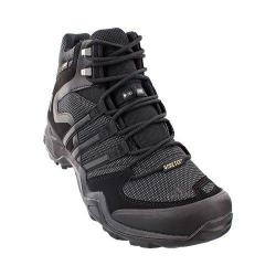 Men's adidas Fast X High GORE-TEX Hiking Shoe Black/Dark Grey/Power Red