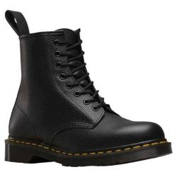 Dr. Martens 1460 Pebble 8 Eye Boot Black Pebble