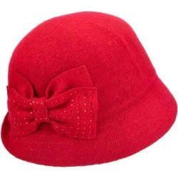 Women's Betmar Betty Cloche True Red 20281376