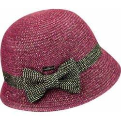 Women's Betmar Lorelai Bucket Hat Berry Metallic
