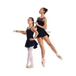 Girls' Capezio Dance Circle Skirt Black