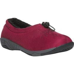 Women's Propet Clara Slip-On Red Velour