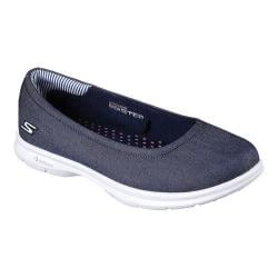 Women's Skechers GO STEP Key Ballet Flat Denim
