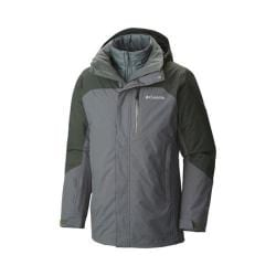 Men's Columbia Lhotse II Interchange Jacket Deep Green/Deep Woods