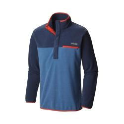 Men's Columbia Mountain Side Fleece Pullover Jacket Night Tide/Collegiate Navy