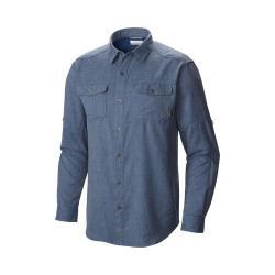 Men's Columbia Pilsner Lodge Long Sleeve Shirt Night Tide Heat