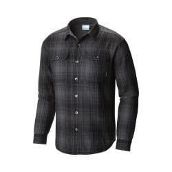 Men's Columbia Windward III Overshirt Black Plaid